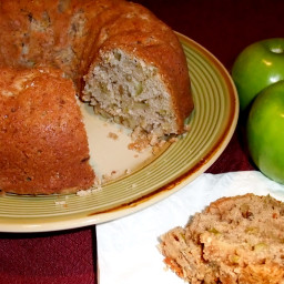 Apple Nut Coffee Cake