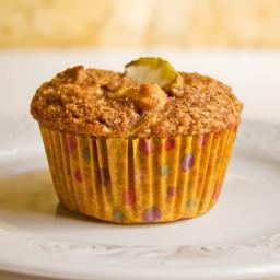 Apple Oat-Bran Muffins