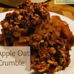 Apple Oat Crumble