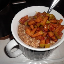 Apple Oatmeal Topping
