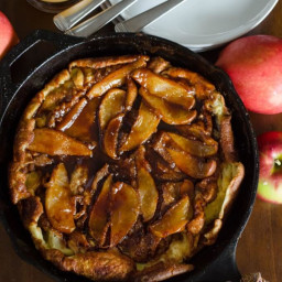 Apple Oven Pancake