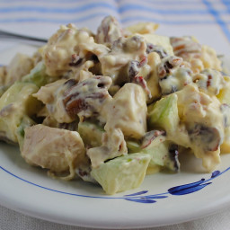 Apple Pecan Chicken Salad is Beautiful, Delicious, and Easy to Make