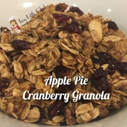 Apple Pie Cranberry Granola