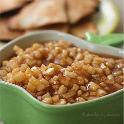 Apple Pie Dip and Cinnamon-Sugar Tortilla Chips