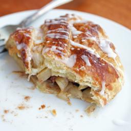 Apple Pie Pastry Braid #brunchweek