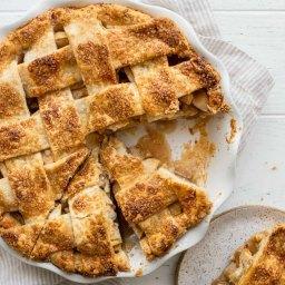 Apple Pie Recipe (The BEST!)