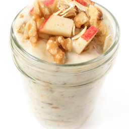 Apple Pie Refrigerator Oatmeal