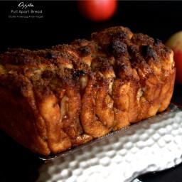 Apple Pull Apart Bread (Gluten Free Vegan)