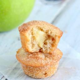 Apple Snickerdoodle Mini Muffins