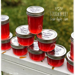 Apple Strawberry Jelly