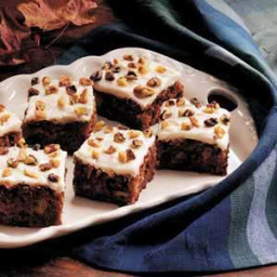 Apple Walnut Cake with Cream Cheese Frosting Recipe