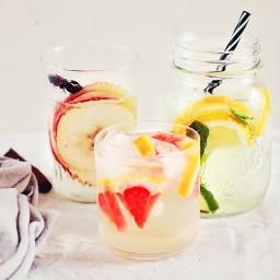 Apple, Cinnamon and Honey Infused Water