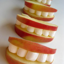 apples and marshmallow treat