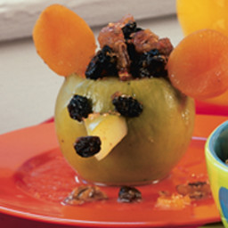 Apples Baked with Pecans and Raisins