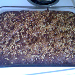 Applesauce Chocolate Cake