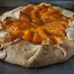 Apricot Cheddar Crostata