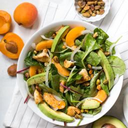 Apricot Pistachio Chicken Salad
