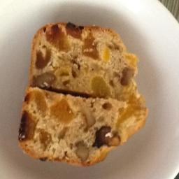 Apricot & walnut loaf