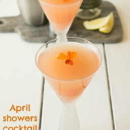 April showers cocktail