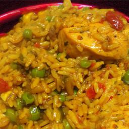 Arroz con Pollo (Spanish Rice with Chicken)