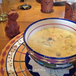 Artichoke and Chicken Chowder