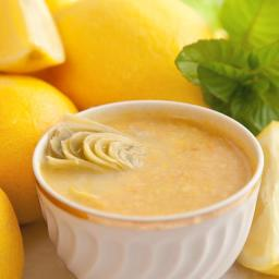 Artichoke and Lemon Soup