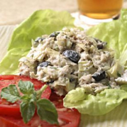 Artichoke and Ripe Olive Tuna Salad