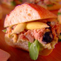 Artichoke and Tuna Panini with Garbanzo Bean Spread