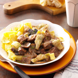 Artichoke Beef Stew Recipe