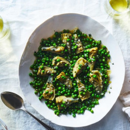 Artichoke Hearts and Peas
