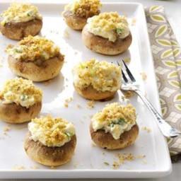 Artichoke Mushroom Caps Recipe