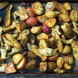 Artichoke-Potato Medley