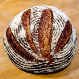Artisan Whole Grain Sourdough