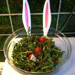 Bacon and Cherry Tomatoes Salad