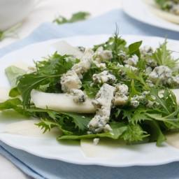 Arugula and Pear Salad with Maple Vinaigrette