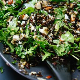 Arugula, Dried Cherry and Wild Rice Salad