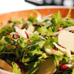 Arugula, Radicchio and Parmesan Salad