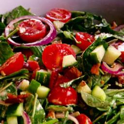 Arugula Salad with Bacon and Pecans