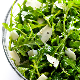 Arugula Salad with Parmesan, Lemon and Olive Oil