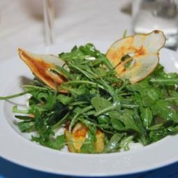 Arugula Salad with Pears and Gorgonzola
