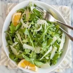 Arugula Salad with Fennel and Lemon Vinaigrette