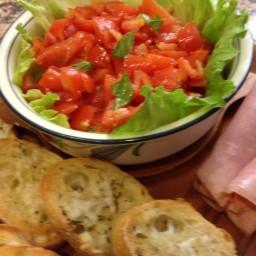 Asiago Cheese & Tomato Bruschetta