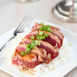 Asian Ahi Tuna