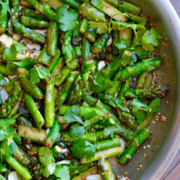 Asian Asparagus with Sesame Seeds