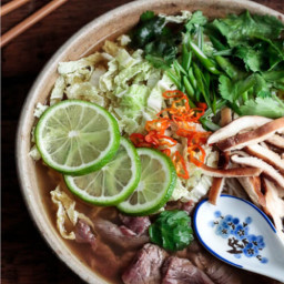 Asian Beef Noodle Soup - Low Carb & Gluten Free