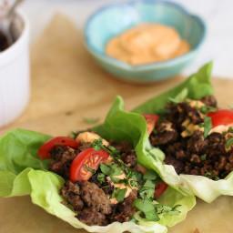 sesame garlic beef tacos recipes | BigOven