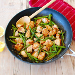 Asian Chicken and Asparagus