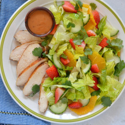 Asian Chicken-and-Orange Chopped Salad
