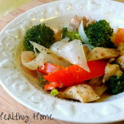Asian chicken and vegetables (gluten/dairy/egg/msg free)