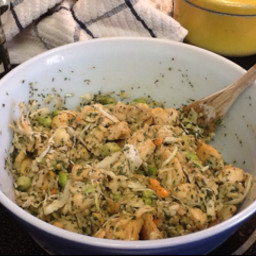 Asian Chicken-Cashew Salad